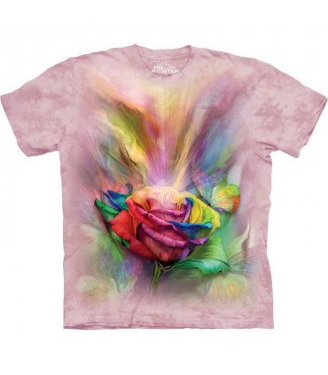 T-shirt Rose The Mountain