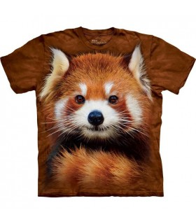 Red Panda Portrait T Shirt