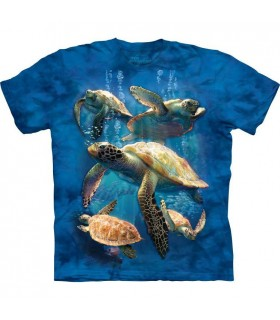 Sea Turtle Family T Shirt