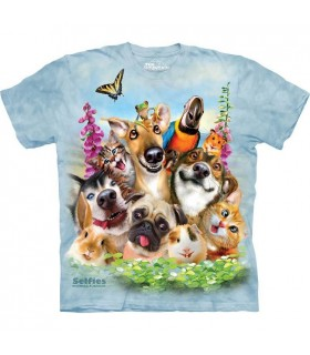 Selfie Animaux Domestiques - T-shirt animal The Mountain