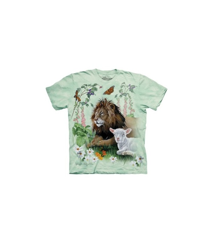 T-shirt Lion et Agneau The Mountain
