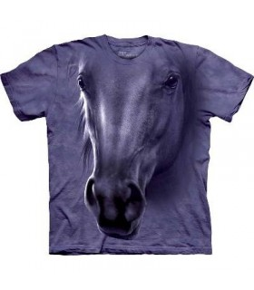 T-Shirt tête de cheval par The Mountain