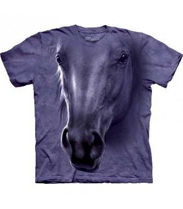 Horse Head - Horse T Shirt by the Mountain