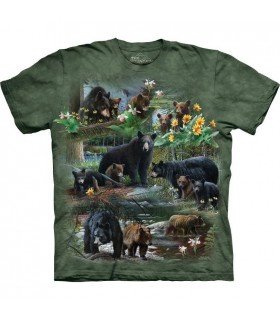 Bear Collage T Shirt