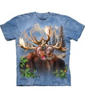 Moose Selfie T Shirt