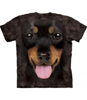 Big Face Dachshund Puppy T Shirt