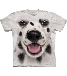 Big Face Dalmation Puppy T Shirt