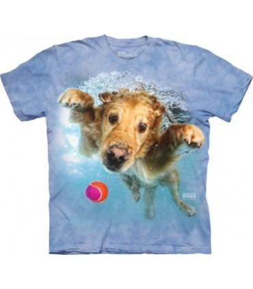 Frisco - T-shirt chien sous l'eau par Seth Casteel