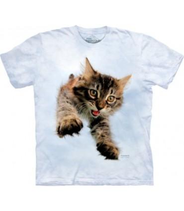 T-shirt Chat Bondissant Seth Casteel