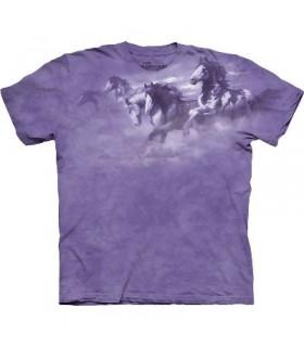 T-Shirt comme le vent par The Mountain