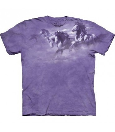 T-Shirt comme le vent par The Mountain
