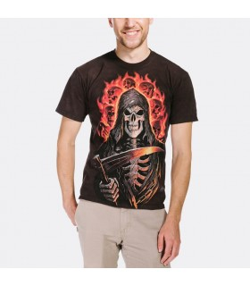 Faucheur en Feu - T-shirt Fantasy The Mountain