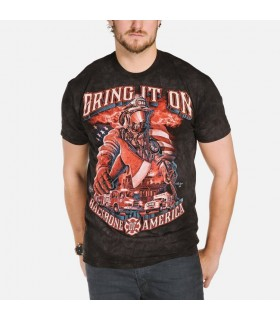 Service d'Incendie - T-shirt Pompier The Mountain