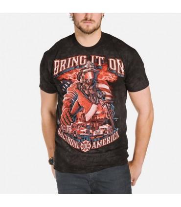 Service d'Incendie - T-shirt Pompier The Mountain