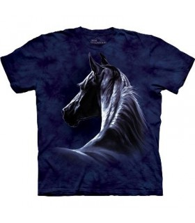 Moonlit - Horses Shirt The Mountain