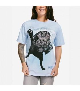 Duchess - T-shirt Chien sous l'eau par Seth Casteel