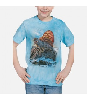 Dimetrodon - T-shirt Dinosaure The Mountain