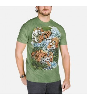 Water Tiger Collage T Shirt