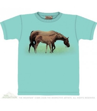 Quality Time - Horses Shirt The Mountain