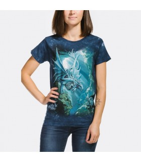 T-shirt Femme Dragon de Mer The Mountain