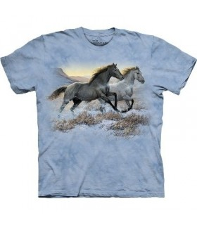 Running Free - Horses Shirt The Mountain