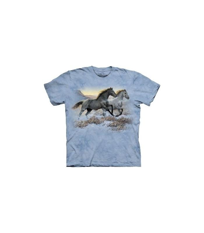 Running Free - Horses Shirt The Mountain