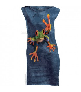 Victory Frog - Womens Mini Dress The Mountain