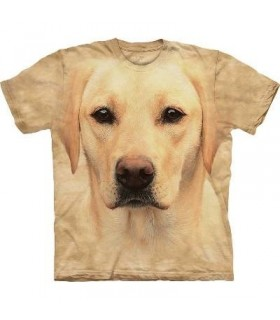 T-Shirt Labrador Jaune par The Mountain