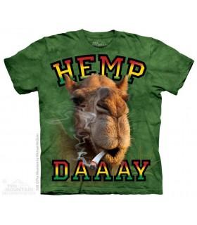 Hemp Daaay - Camel T Shirt The Mountain