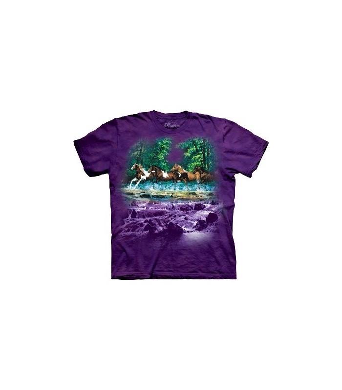 T-Shirt Spring Creek Run par The Mountain