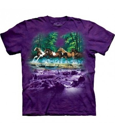 T-Shirt Spring Creek Run par The Mountain