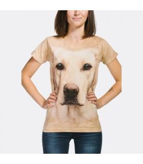 T-shirt Femme motif Labrador The Mountain