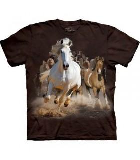 T-Shirt Cavalcade par The Mountain