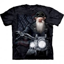Biker JD - T-shirt Manimal par The Mountain