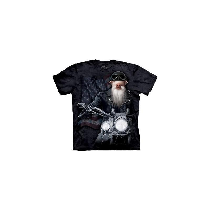 Biker JD - T-shirt Manimal par The Mountain