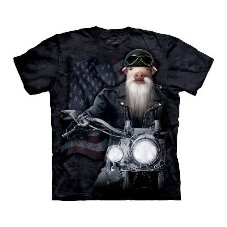 Biker JD The T Shirt by the Mountain