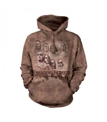 Sweatshirt à capuche Pères Fondateurs The Mountain
