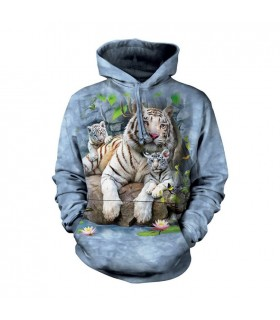 Sweatshirt à capuche Tigre du Bengal The Mountain