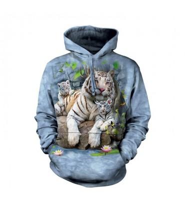 Sweatshirt à capuche Tigre du Bengal The Mountain