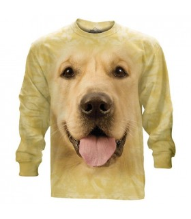 Big Face Golden Longsleeve T Shirt