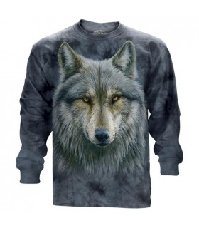 Warrior Wolf Longsleeve T Shirt