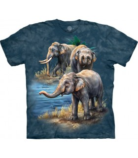 T-shirt Eléphant Asie The Mountain