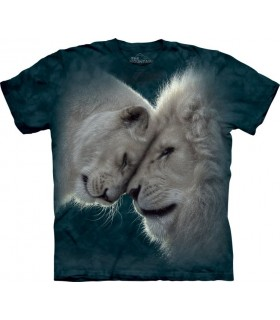 White Lions Love T Shirt