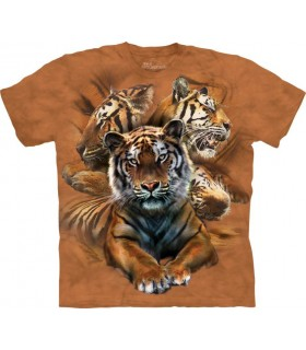 T-shirt Tigres The Mountain