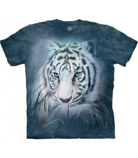 Thoughtful White Tiger T Shirt