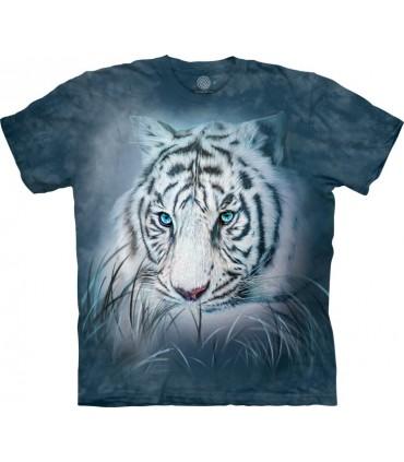 T-shirt Tigre Blanc The Mountain