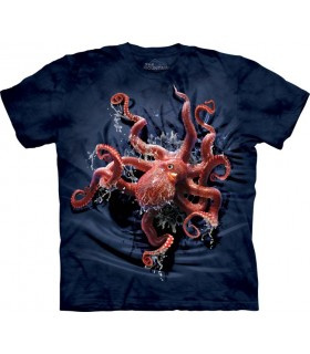 T-shirt Poulpe The Mountain