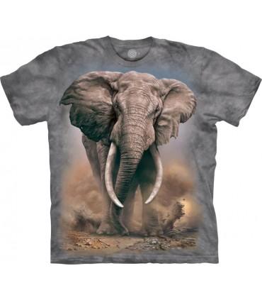 T-shirt Éléphant d'Afrique The Mountain