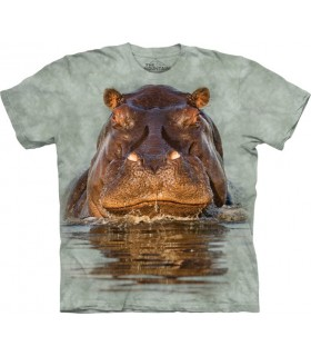 T-Shirt Hippopotame The Mountain