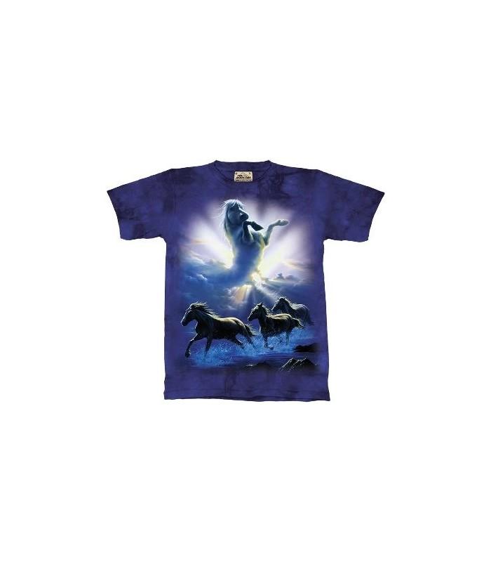 Wild Spirit - Horses Shirt the Mountain
